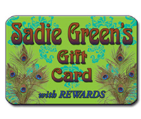 Sadie Green's Gift Card