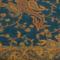 #21DarkTealPaisley
