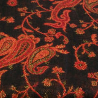 #5BrightRed-BlackPaisley