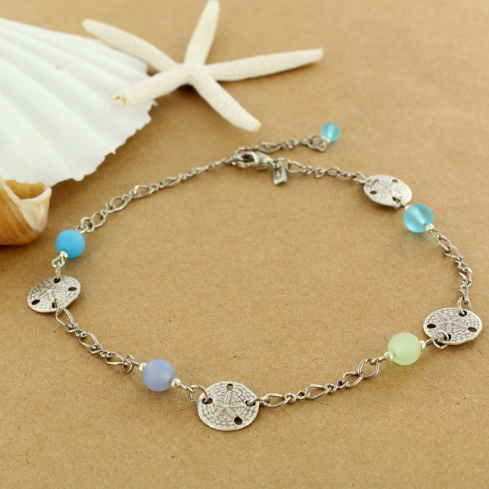 asm life turtle large anklet sea fashion antique image accessories silver wholesale view glass
