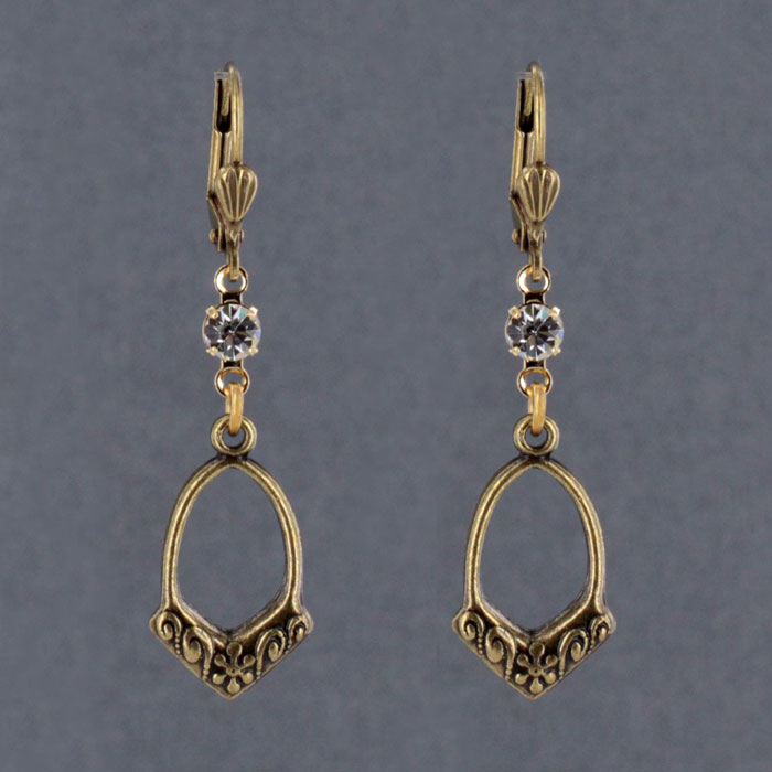 1688-STM Arts & Crafts Earring