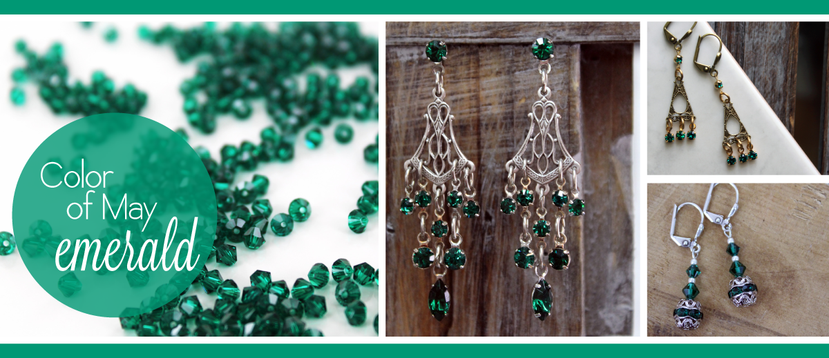 Sadie Green's Emerald Jewelry, Color of May