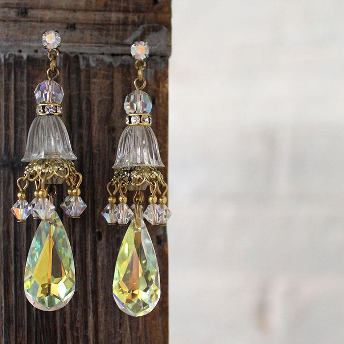 Limited Edition Vintage Swarovski Crystal Earring
