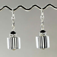1357-SP Vintage Lucite Earring