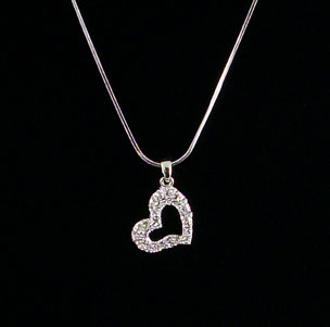 LCY-22892 Heart Necklace