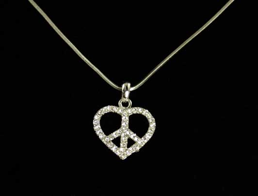 LCY-AP-187 Heart Peace Sign