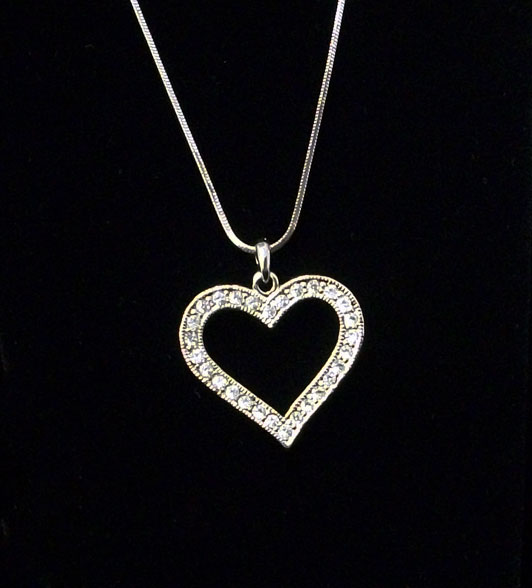 LCY-X-447 Heart Necklace