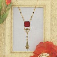 N20 Vintage Intaglio Necklace