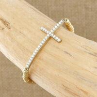 SBI-B1557 Cross Bracelet