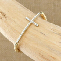SBI-B1557 Cross Bracelet