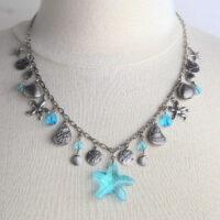 1339N Starfish Charm Necklace