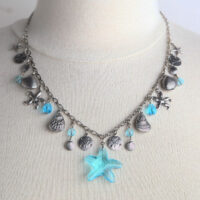 1339N Starfish Charm Necklace